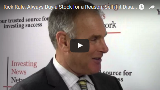 Video-Interview with Rick Rule: Always Buy a Sto...