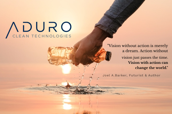 ACT NOW PUBLIC: Aduro Clean Technologies Inc. starts tr...