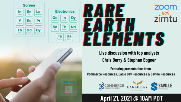 Rare Earth Elements featuring Chris Berry...