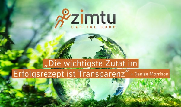 Zimtu Capital startet Snapshot Investment Portfo...