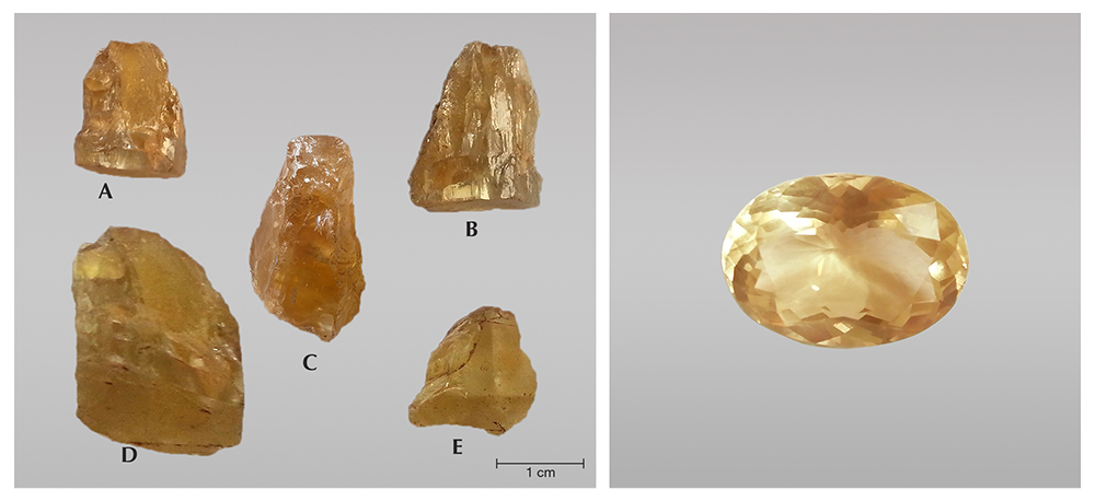 A New Find of Danburite in the Luc Yen Mining Ar...