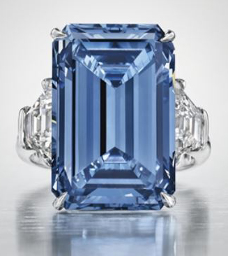 $58.25-million Oppenheimer Blue diamond sets new...