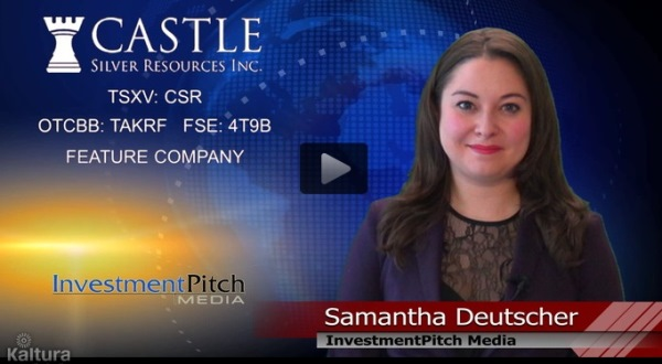 Castle Silver Resources Selected as Featured Com...
