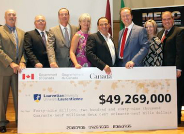 Laurentian University gets $114 million for mine...